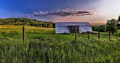IMG_8723-24Ptzl1scTBbLGE (ultravivid imaging) Tags: ultravividimaging ultra vivid imaging ultravivid colorful canon canon5dmk2 clouds sunsetclouds scenic rural fields farm barn
