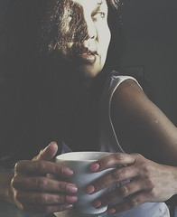 just me.... (analearnin) Tags: selfportrait justme coffeeandme