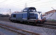 66046  Mundelsheim  28.03.88 (w. + h. brutzer) Tags: mundelsheim eisenbahn eisenbahnen train trains frankreich france railway diesellok dieselloks lokomotive locomotive zug sncf webru analog nikon