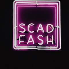 (Hannah Hayes Photography) Tags: fashion sign museum lights neon scad scadfash