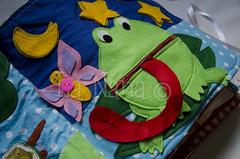 Quiet Book (5) (La Nana Handmade *Fabiola*) Tags: quiet book busy attivit children baby fabric activity sensory sensoriale preschooer asilo scuola materna