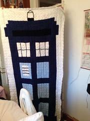 #tardis #crochetblanket #birthday #daughter (litt1e_somethings) Tags: birthday daughter tardis crochetblanket