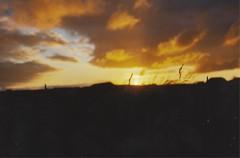 (marlinhelene2) Tags: sunset sky sun color film nature analog 35mm canon gold kodak iso 200 a1