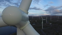 Windmills super close pull out (Robin Lund) Tags: drone droning footage aerial windmills park arctic windmill energy nature power industry wind industrial electric green turbine generator electricity renewable technology propeller mountains landscape 4k uhd narvik nygrdsfjell ofoten northernnorway nordnorge