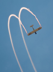 QIAS 2016 - What Goes Up... (Jay:Dee) Tags: kent pietsch airshows interstate cadet aerobatics flight flying aviation 2016 qias quinte international air show airshow cfb trenton candian forces base