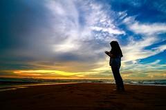 IMG_3830 ~ my girl (achem74) Tags: pengkalanbalak melaka malaysia travel places trip beach sunset sundown coast canon eos eos700d canoneos700d canonlens 10mm18mm wideangle