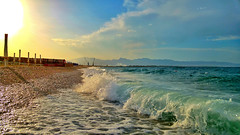 The quiet after the storm (Lucio Busa) Tags: sea beach g4 lg schiavonea
