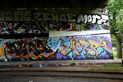 graffiti amsterdam (wojofoto) Tags: holland amsterdam graffiti nederland netherland morph morf flevopark amsterdamsebrug wolfgangjosten wojofoto
