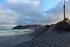 St Clair Beach. (AbiiTriesPhotography) Tags: ocean new city sky cold beach island sand quiet peace south happiness zealand dunedin