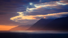 Sunset at the Lost Coast (San Francisco Gal) Tags: sunset cliff cloud pacificocean goldeneye lostcoast sheltercove