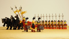 the Persians... (legophthalmos) Tags: history army persian ancient war lego battle warrior chariot persians