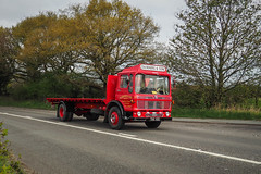 AEC Mercury - THA 42G (Ben Matthews1992) Tags: old 1969 truck vintage wagon cheshire mercury transport historic lorry commercial vehicle preserved rogers preservation flatbed waggon lorries haulage aec lymm roadrun classci tha42g cheshirerun2016