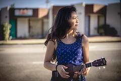Caitlyn (jamesonmatsuda) Tags: portrait ukulele sony 55mm
