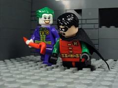 Let's Play (MrKjito) Tags: red jason robin comics death dc lego under games torture batman joker hood todd minifig origin crowbar