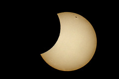Partial Solar Eclipse (Andrew Fleming Photography) Tags: sun moon iso100 solar eclipse space victoria dookie 100400mm partial solareclipse sunspots nd400 partialsolareclipse nd8 nd4 nd2 centralvictoria 14xconverter canoneos7d