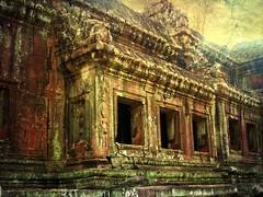 Kambodscha , Angkor Wat, Gigantisch und mysteris,  8-5/2137 (roba66-off on holiday) Tags: texture asia asien cambodia kambodscha siam tempel ruinen siamreap textur effecte angkorwar roba66 rememberthatmomentlevel1