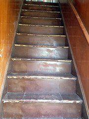 stairs (reclaimedhome) Tags: house home diy antique restoration renovation architecturalsalvage rockaway homeimprovement bungalow reclaimed