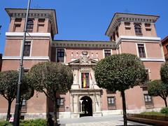 Palacio de Fabio Nelli, Valladolid. (lumog37) Tags: museum architecture arquitectura flags bandera museo palaces palacios tesorosdevalladolid