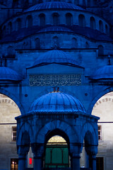 Istanbul - Blue Mosque (Markus Hill) Tags: city travel blue night canon turkey evening istanbul mosque trkei blau bluemosque sultanahmed blauemoschee moschee 2013