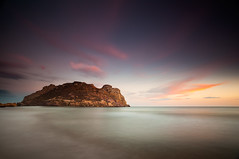 Isla del Fraile (Antonio Carrillo (Ancalop)) Tags: longexposure sunset sea espaa costa seascape beach water clouds marina canon landscape atardecer coast mar spain agua rocks playa paisaje murcia filter le 09 nubes reverse canondslr rocas graduated density aguilas neutral filtro largaexposicin filtros gnd calabardina neutraldensity cabocope canon1740mm singhray densidadneutra antoniocarrillo isladelfraile 5dmarkii ancalop singhraydarylbensonreverse