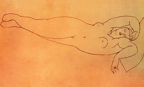 """Genealogía de las Soñantes, versiones de Lucas Cranach el Viejo (1534), Giorgione (1510), Tiziano Vecellio (1524), Nicolas Poussin (1625), Jean Auguste Ingres (1864), Amadeo Modigliani (1919), Pablo Picasso (1920), (1954), (1955), (1961). • <a style=""""font-size:0.8em;"""" href=""""http://www.flickr.com/photos/30735181@N00/8746826275/"""" target=""""_blank"""">View on Flickr</a>"""