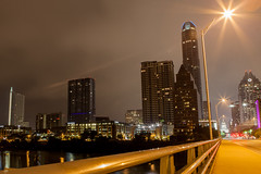 Downtown Austin from the Congress St. bridge (Cherry Bream) Tags: morning austin texas