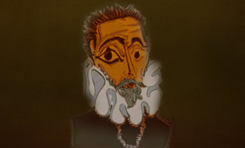 """Hidalgo Ibérico, expresión de Doménikus Theokópoulos el Greco (1597), transcripción de Pablo Picasso (1971). • <a style=""""font-size:0.8em;"""" href=""""http://www.flickr.com/photos/30735181@N00/8747933618/"""" target=""""_blank"""">View on Flickr</a>"""