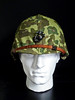 WW2 USMC M1 HELMET (nruebotham) Tags: usmc islands pacific m1 helmet front eugene cover camouflage ww2 ega bale seam hbo solomon sledge guadalcanal iwo jima sledgehammer acac swivel p42 pelelu