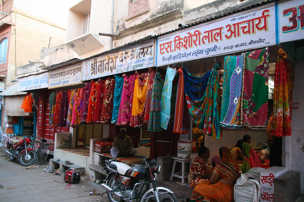 Indian shopping