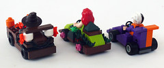 Freak Racers back (Oky - Space Ranger) Tags: dc lego fear scarecrow ivy super gas freak batman heroes poison racers universe twoface