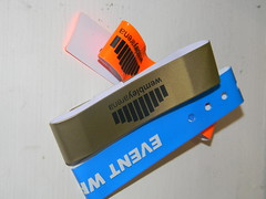Concert plastic wrist bands wembley event 16th June 2013 15-06-2013 23-16-03 (dennoir) Tags: