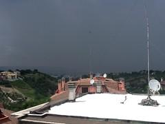 1 (erregi58) Tags: italy rain italia thunderstorm pioggia lazio temporale monterotondo