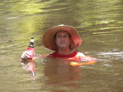 This doesn't suck. (Just Back) Tags: summer men boys water beer hat fun drink saturday floating adventure soak splash relaxation relaxed edisto refreshed erholung colleton thisdoesntsuck lowcountryunfiltered