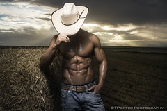 Fitness, Cowboy, Epic, Abs, Inspiration, Workout Motivation (Tyler Porter Photography) Tags: shirtless storm sexy rural interesting cowboy flash ripped dramatic professional abs epic shredded exciting crepuscularrays colordo ryannelson fitnessmodel strobist stobes tylerporter