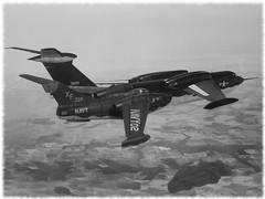 1:72 Curtiss Model 101 (UFC-1 'Oceanhawk '); former second XFC-1 prototype, VX-4; Point Mugu, summer 1956 (What-if/Kit-bashing) (dizzyfugu) Tags: sea test dark airplane grey boat us flying code model fighter trolley aviation tail navy jet fantasy prototype kit seamaster usn dart 172 beaching fictional curtiss whatif modellbau xf p6m whif kitbashing vx4 oceanhawk dizzyfugu