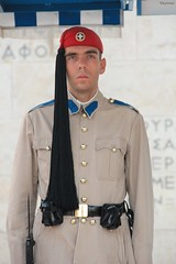 A Greek Soldier on shift (kytmaz) Tags: man men adam soldier greek uniform shift athens greece uniforms homme asker atina nbet niforma