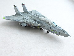 F-14A Tomcat updated (1) (Mad physicist) Tags: lego f14 usnavy tomcat f14a cvw8 tophatters vf14