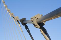 Puente (MARY_ZGZ) Tags: bridge detalle detail puente steel cable zaragoza photowalk acero 2013 brck pw2013afz