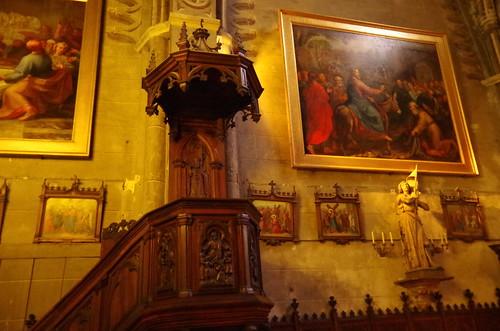 IMGP4970 IMGP4968 - Cathédrale Notre-Dame de Grenoble - partie du XIè siècle (église Saint Hugues)