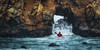 Pfeiffer's Closed Door (Silent G Photography) Tags: california ca winter people seascape storm sports rain cali nikon kayak tripod extreme bigsur solstice adobe nik nikkor centralcoast pfeiffer pfeifferbeach kayaker reallyrightstuff actionsports rrs 2013 nikond800 californiakayaker markgvazdinskas silentgphotography silentgphoto