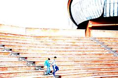 father & son (Irene Grassi (sun sand & sea)) Tags: people italy rome roma architecture italia gente father piano son padre renzopiano architettura auditorium lazio figlio auditoriumparcodellamusica architetto flickrandroidapp:filter=none
