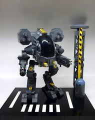 LYNX Z1 Heavy Assault Mech (W) (SuperHardcoreDave) Tags: chicken war lego tech machine walker future scifi mecha mech moc