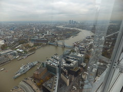 A trip to The Shard (erintheredmc) Tags: from street bridge house building london eye tower church saint by thames skyline modern floors river temple big globe europe ship view cross cathedral ben tate erin walk top district piano parliament millenium pauls somerset belfast victoria millennium queen queens master architect wellington western charing blackfriars kensington 69 shard financial gherkin 72 bt oval southwark lambeth renzo mccormack bankside unilever 68 hms tallest designed embarkment cathdral tooley walkie talkie uploaded:by=flickrmobile flickriosapp:filter=nofilter