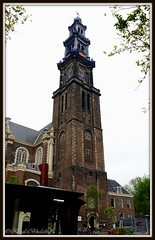 Westerkerk (Renal Bhalakia) Tags: holland tower clock church netherlands amsterdam architecture europe clocktower jordaan westerkerk westerkerkchurch dutcharchitecture nikond600 dutchlandmark renalbhalakia nikon28300mmvr