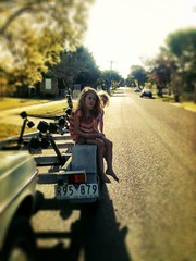 Trailer Trash. Zoe's sixth birthday. (miaow) Tags: birthday summer 6yo sixthbirthday