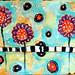 Mixed Media: Doodly Flowers