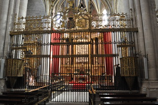 Reja de la Capilla Mayor de la Catedral de Zamora.