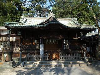 調神社 拝殿