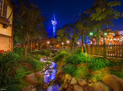 Rapunzels Place (mwjw) Tags: world walter night nikon long exposure shot mark magic kingdom disney walt rapunzel d800 mwjw vision:mountain=0599 vision:outdoor=0717 vision:plant=0849 vision:dark=072 vision:flower=0692
