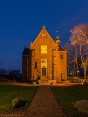 De Hoge Kerk in Harkstede (koos.dewit) Tags: church canon nightshot thenetherlands groningen kerk 6d 2014 harkstede 1740mml nachtopname koosdewit